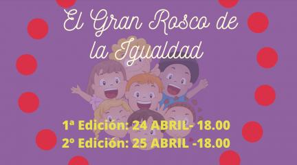 """""""El gran rosco por la igualdad"""": un taller online para jugar en familia este fin de semana"""