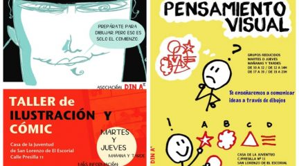 Talleres de pensamiento visual e ilustración y cómic en la Casa de la Juventud de San Lorenzo