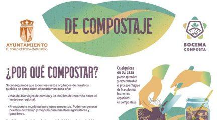 El Boalo organiza varios talleres de compostaje gratuitos dentro del proyecto Bocema Composta
