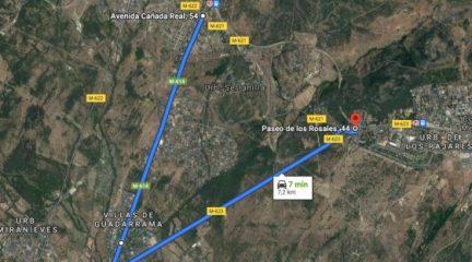 El asfaltado de la M-621 obliga a cortar la carretera durante una semana entre los kilómetros 0 y 3