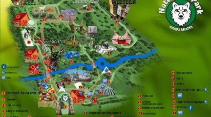 Naturocio Park Guadarrama, el mayor parque de ocio en la naturaleza de España, abre sus puertas este viernes 11 de junio