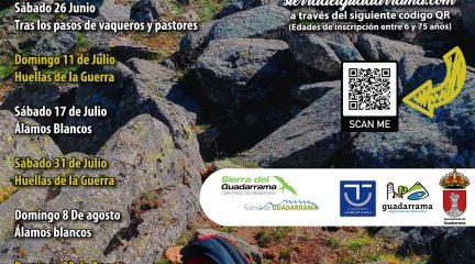 Guadarrama inicia un nuevo calendario de rutas senderistas para recuperar las actividades de ocio activo