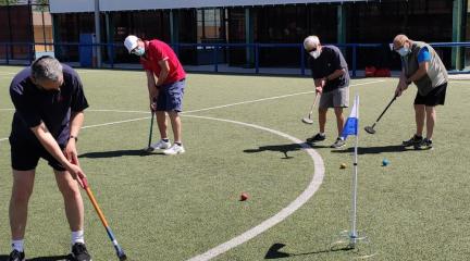 Galapagar organiza su primer Torneo de Ground Golf, que tendrá lugar el próximo 26 de junio