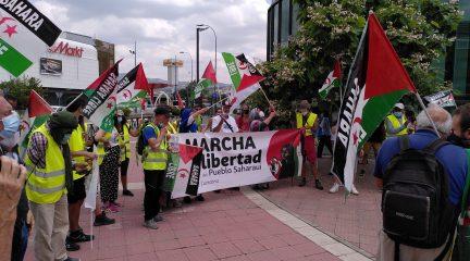 La Marcha por la libertad del pueblo saharaui llega a Collado Villalba