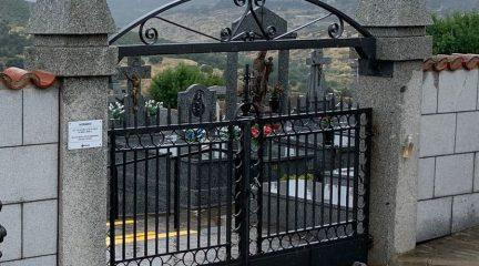 Terminan las obras de embellecimiento exterior en el cementerio de Robledo de Chavela