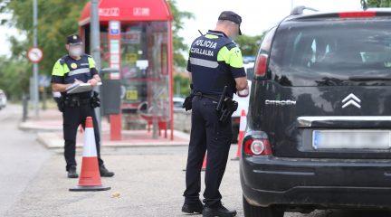 La Policía Local de Collado Villalba colabora con la DGT en una campaña especial de control de alcoholemia y detección de drogas