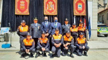Los Molinos celebra la festividad del Patrón de la Policía Local con un emotivo acto institucional