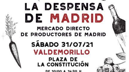 """El mercado itinerante """"La Despensa de Madrid"""" llega este sábado a Valdemorillo"""
