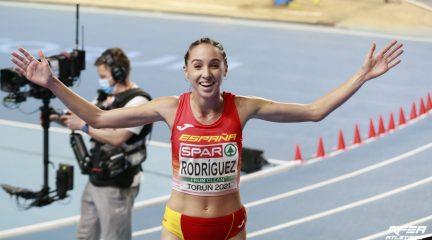 """Lucía Rodríguez sale este viernes hacia los Juegos Olímpicos de Tokio """"sin miedo y con muchas ganas de correr"""""""