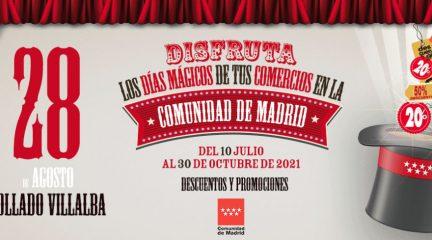 Navacerrada, Collado Villalba y Las Rozas, presentes en la nueva edición de la campaña 'Comercios Mágicos' de la Comunidad de Madrid