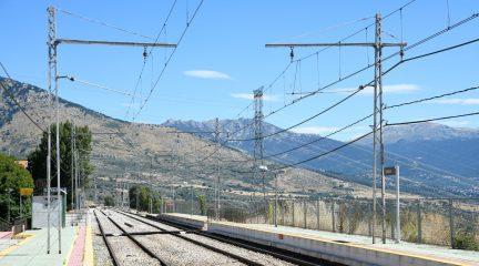 Adif destina más de 750.000 euros a la instalación de las protecciones de la catenaria en el tramo Cercedilla-Segovia