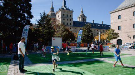 Cercedilla acogerá este sábado 4 de septiembre una pista de mini-tenis para fomentar este deporte entre los más pequeños
