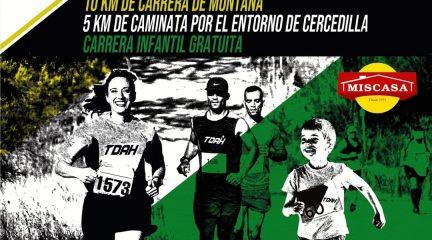 La asociación APDE Sierra organiza la novena edición de la carrera Corre por el TDAH en Cercedilla