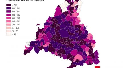 Torrelodones, Becerril, Navacerrada y El Boalo encabezan los peores datos de Covid, que aumentan en la mayoría de municipios