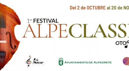Alpedrete celebra el I Festival de música clásica Alpeclassic durante los meses de octubre y noviembre