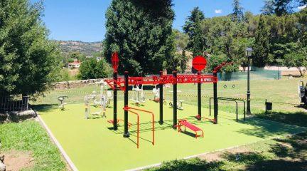 Robledo de Chavela cuenta con un nuevo punto activo de ejercicio físico en El Cerrillo