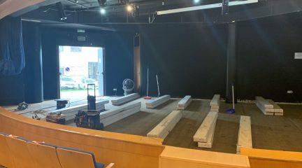 Obras de mejora en el Centro Cultural de El Escorial de cara al inicio de curso