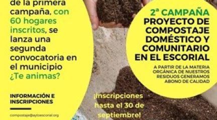 El Ayuntamiento de El Escorial inicia la segunda Campaña de Compostaje Doméstico y Comunitario
