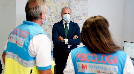La Comunidad de Madrid ha atendido a 10.000 pacientes dentro de su Plan de Respuesta en Salud Mental a la crisis del Covid-19
