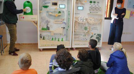 Valdemorillo se suma a la campaña de concienciación para aumentar el reciclaje de vidrio