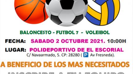 Este sábado, primera Olimpiada Solidaria en El Escorial, organizada por Amigos del Alfoli