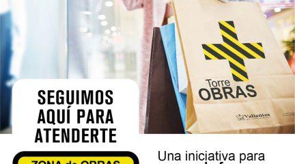 """""""A pesar de las obras, estamos abiertos"""", campaña de apoyo al comercio de Torrelodones"""