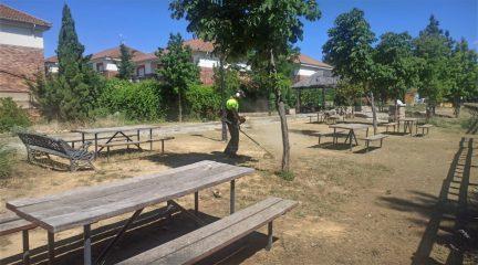 Valdemorillo refuerza la plantilla municipal en las áreas jardinería, recogida de residuos y mantenimiento