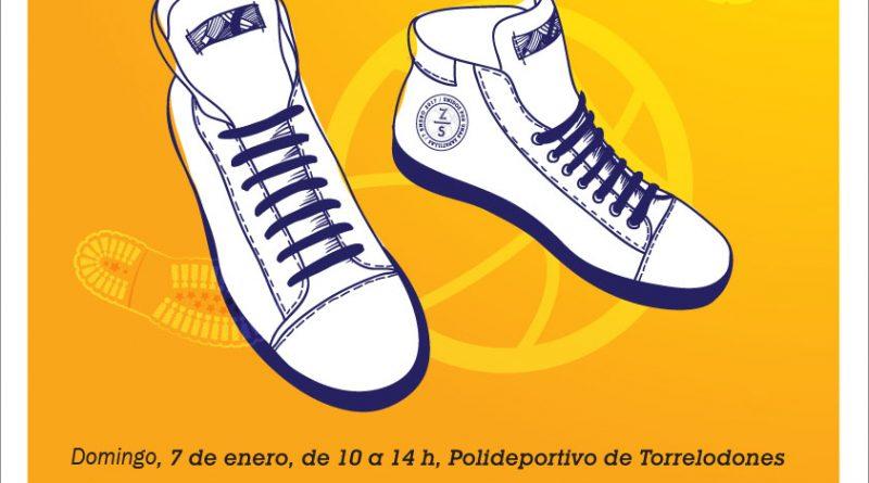 Cartel zapatillas solidarias
