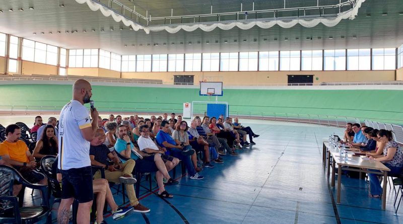 Reunión Asociaciones, Clubes y AMPAS
