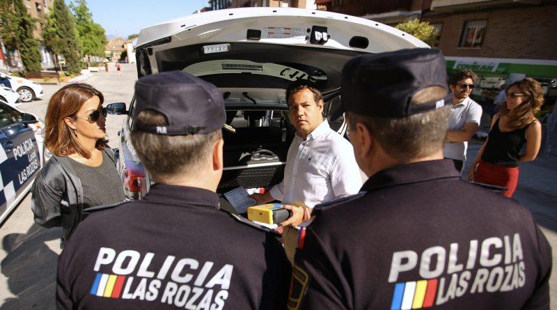 vehiculos policía