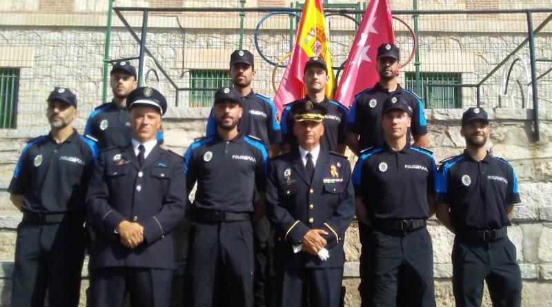 Nuevos policías locales de Galapagar
