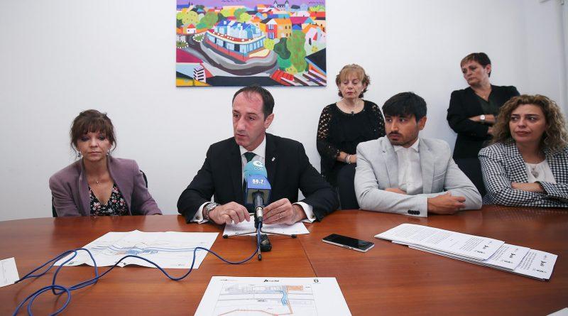 Firma del acuerdo con Renfe y Adif