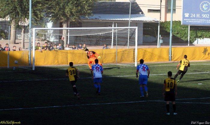 GALAPAGAR Gol penalti Casado
