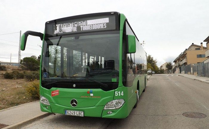autobuses hibridos torrelodones