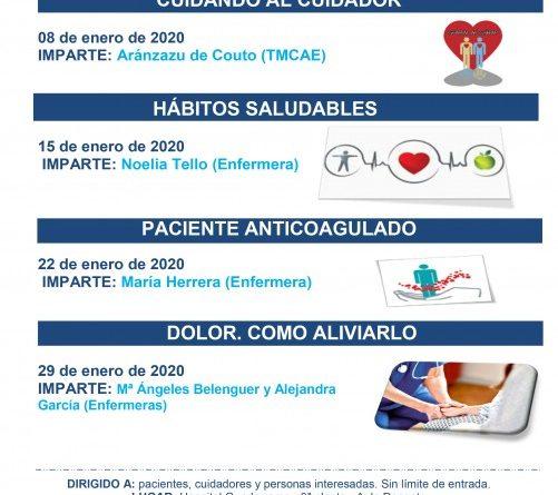 Escuela Cuidadores ENERO 2020