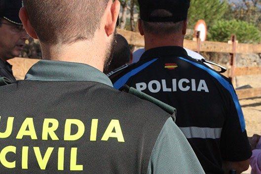 policía - guardia civil galapagar