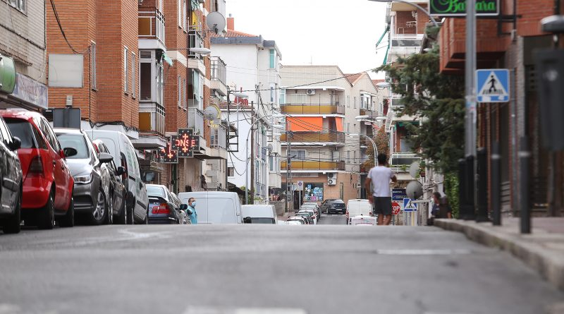 Calle Pardo de Santallana, en el barrio de El Gorronal