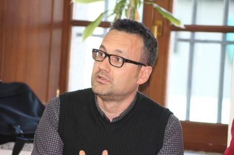 El concejal de Morazarzal en Común, Iván García