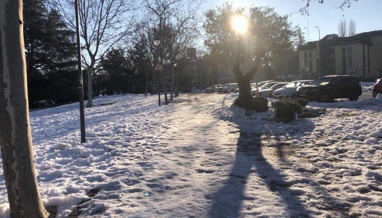 nieve las rozas