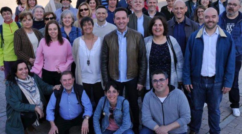 Imagen de la candidatura con la que Vecinos por Moralzarzal concurrió a las elecciones de mayo de 2019