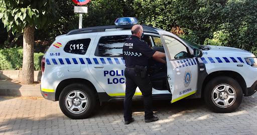 policía escorial