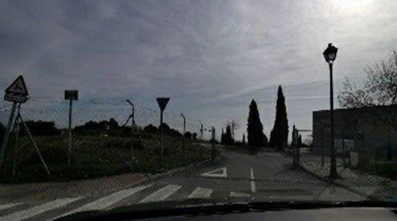 Entrada del cementerio de Torrelodones