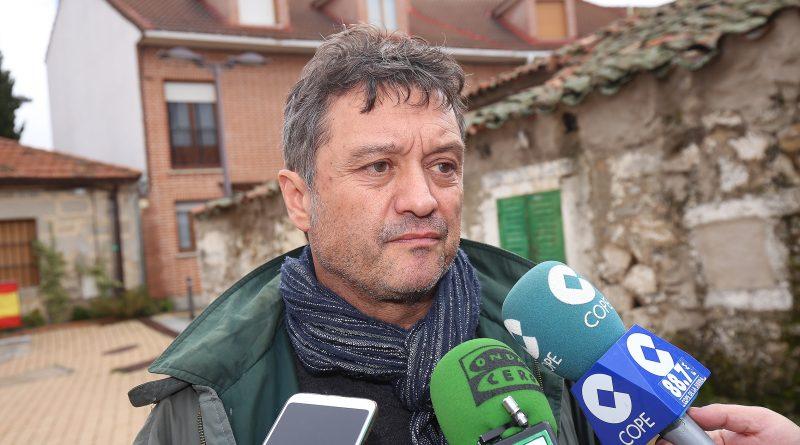 Vituco Alcolea es el secretario general y el portavoz de los socialistas en el Ayuntamiento villalbino