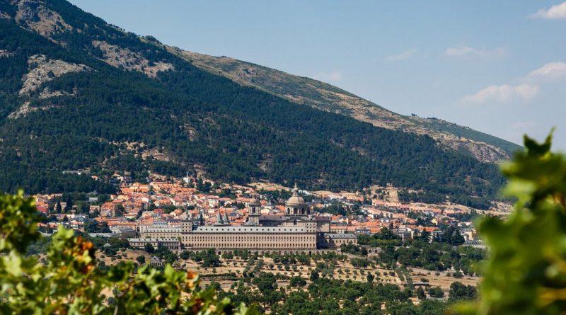 Vista de San Lorenzo de El Escorial