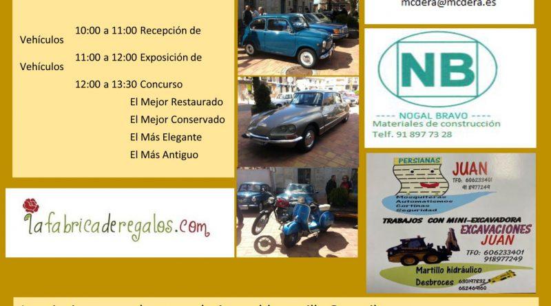 CERTAMEN DE COCHES Y MOTOS CLACICOS SIERRA DE MADRID 19 DE SEPTI